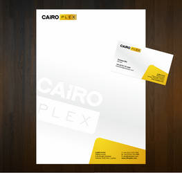 Stationery for Cairo Plex by evidentart