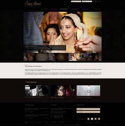 Website design for SaiAmi by evidentart