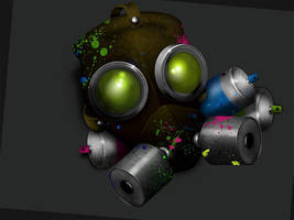Portfolio Site Mascot by uberdiablo-pixels