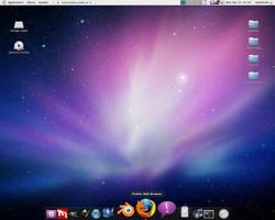 Ubuntu desktop by uberdiablo-pixels