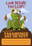 Injured froggie by uberdiablo-pixels