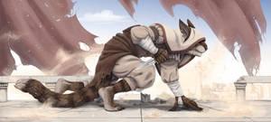 Khajiit assassin by A-LittleCrAzy