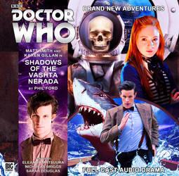 Shadows Of The Vashta Nerada   Big Finish Cover by Cotterill23