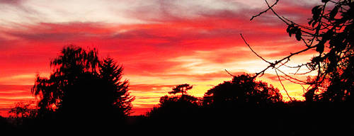 Oxfordshire Sunset by Cotterill23