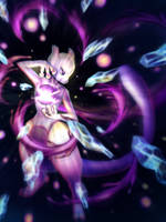Mewtwo by lucent-tale