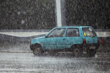 urban rainfall by klopmaster