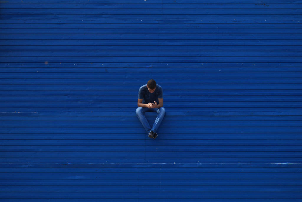 in blue by klopmaster