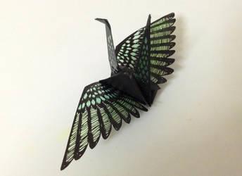 papercutting:wing by tuitati
