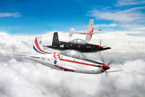 Pilatus PC-9A Boxart by 0viking0