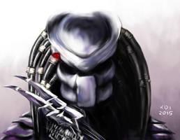 Predator Sketch by 900fy