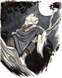 Mixodri - Roguetober: Moonlight by hyperionwitch