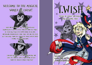 I.Wish Volume 1 - 2nd Edition cover by JammyScribbler