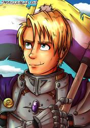 Knight Pride by JammyScribbler