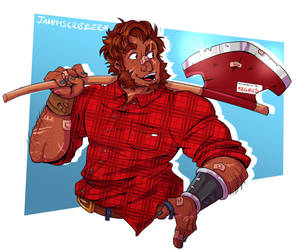 lumberJACKED by JammyScribbler