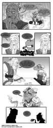 DnD comic #1 - backstory by JammyScribbler