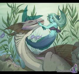 Monster Kisses by neondragon
