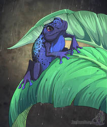 Blue Dart by neondragon