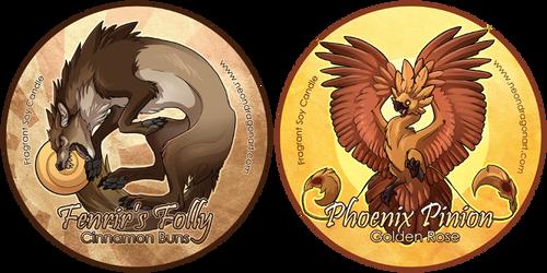 Fenrir's Folly + Phoenix Pinio by neondragon