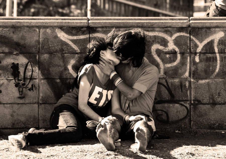 Teenage love III by Massat