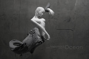 Mermaid series 1 OCEAN by STONELEFT