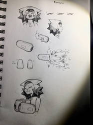 Romayna doodles by Aw0