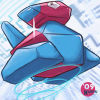 Porygon by Kairyu