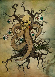 Octoskull Tree by replicant