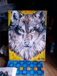 wolf by RepaintLife