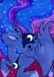 Princess Luna ATC by belyaal