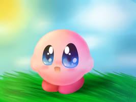 Lineless Kirby by SpirteZStar
