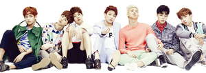 Png render : BTS  (Bangtan Boys) #03 by VipArmy