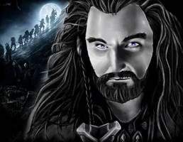 Thorin Oakenshield by Billiski