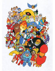 rockman tribute by pepperedcat