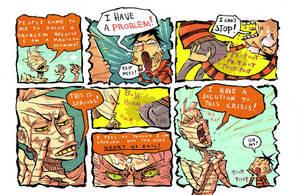 Manhattan Mummy Goes 2 NewYork by PowFlip