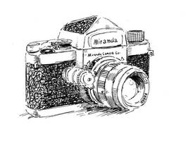Miranda Camera Sketch by PowFlip