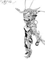 Cyborg Horns by PowFlip