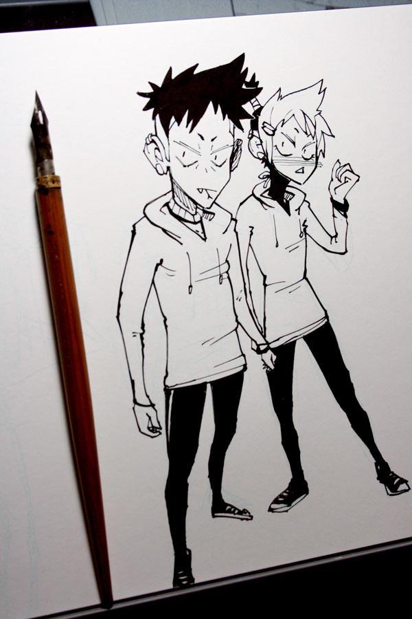 Twins by PowFlip