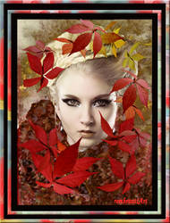 Autumn-Queen - Herbst Queen by rembrantt