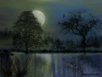 Silent night - Abendstille (update) by rembrantt