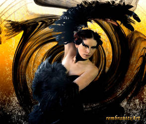 Black Swan 01 by rembrantt