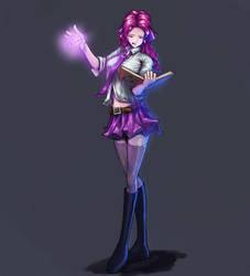 Magic Girl Naya by fosachi