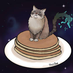 pancake cat request by ThiccBae