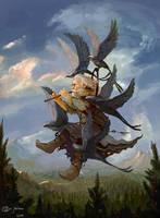 Creature Spellcaster by Redan23