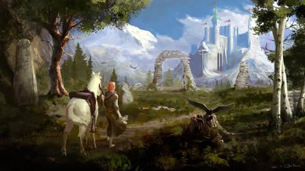 Highland Castle by Redan23