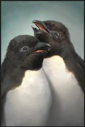 Penguin Chicks by Redan23