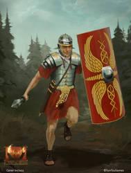 Burning Rome - Legionary - by Redan23