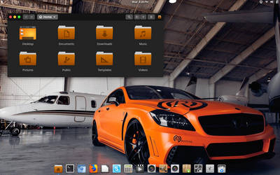 Manjaro Linux Gnome 3.30.1 by CraazyT