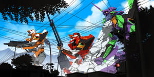 Rebuild Of Evangelion 2.0 by reda22