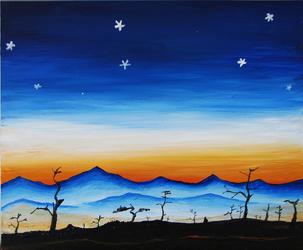 Auringonlasku by Nidra-san