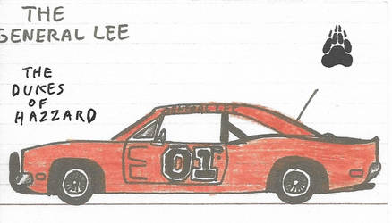 The Dukes of Hazzard  The General Lee by Katarina-G